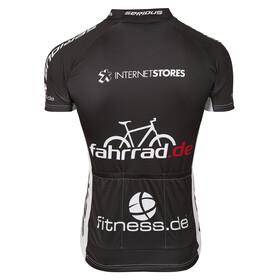 fahrrad.de Basic Team Jersey Damen schwarz